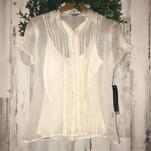 Lauren Ralph Lauren Colonial Cream Blouse